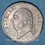 Coins Louis XVIII (1815-1824). 1/4 franc 1817 T. Nantes