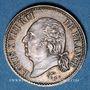 Coins Louis XVIII (1815-1824). 1/4 franc 1822 A