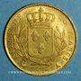 Coins 1ère restauration. 20 francs buste habillé 1814 A. (PTL 900‰. 6,45 g). Type avec 4 moyen