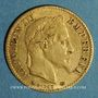 Coins 2e empire (1852-1870). 10 francs Napoléon III tête laurée 1868 A. (PTL 900‰. 3,22 g)