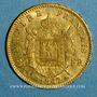 Coins 2e empire (1852-1870). 20 francs Napoléon III tête laurée 1867 BB. Strasbourg. (PTL 900‰. 6,45 g)