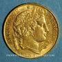 Coins 2e république (1848-1852). 20 francs Cérès 1851 A. (PTL 900‰. 6,45 g)
