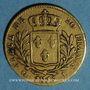 Coins Louis XVIII (1815-1824). 20 francs buste habillé 1815 L. Bayonne. (PTL 900‰. 6,45 g)