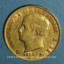 Coins Royaume d'Italie. Napoléon I (1805-1814). 40 lires 1812 M. Milan. (PTL 900‰. 12,90 g)