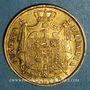Coins Royaume d'Italie. Napoléon I (1805-1814). 40 lires 1814 /180 M. Milan. (PTL 900‰. 12,90 g)