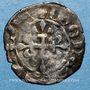 Coins Charles IV (1322-1328). Double parisis, 3e émission (24 juillet 1326)