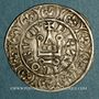 Coins Charles IV (1322-1328). Maille blanche, 3 émission (24 juillet 1326)