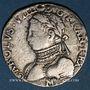 Coins Charles IX (1560-1574). 1/2 teston, 1er type, 1569 M. Toulouse