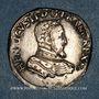 Coins Charles IX (1560-1574). Monnayage au nom de Henri II. Teston, 2e type, 1560 D. Lyon