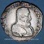 Coins Charles IX (1560-1574). Monnayage au nom de Henri II. Teston, 2e type, 1561 T. Nantes