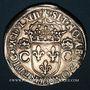 Coins Charles IX (1560-1574). Teston, 1er type, 1563 M. Toulouse