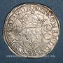 Coins Charles IX (1560-1574). Teston 1er type. 1563 M. Toulouse