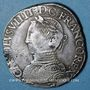 Coins Charles IX (1560-1574). Teston, 1er type. 1564 H. La Rochelle