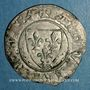 Coins Charles VI (1380-1422). Blanc dit Guénar à l'O rond, 2e émission (1389). Angers