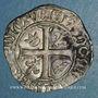 Coins Charles VI (1380-1422). Blanc guénar à l'O rond, 2e émission (1389). La Rochelle