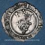 Coins Charles VI (1380-1422). Monnayage du duc de Bourgogne (1417-1423). Florette. Châlons sur Saône