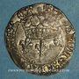 Coins Charles VII (1422-1461). Blanc aux lis accostés. La Rochelle, point 9e