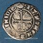 Coins Charles VIII (1483-1498). Hardi, 3e émission. Bordeaux. Inédit !