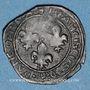 Coins François I (1515-1547). Double tournois à la croisette. H = La Rochelle