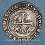 Coins François I (1515-1547). Grand blanc à la couronne, 1er type (23 janvier 1515). Marseille (écu)