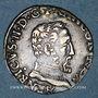 Coins Henri II (1547-1559). 1/2 teston, 2e type, 1557 M. Toulouse