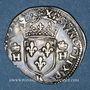 Coins Henri II (1547-1559). 1/2 teston, 2e type, 1558 K. Bordeaux