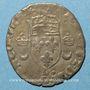 Coins Henri II (1547-1559). Douzain aux croissants 1550 D. Lyon