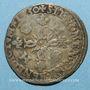 Coins Henri II (1547-1559). Douzain aux croissants 1550 Y. Bourges
