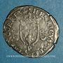 Coins Henri II (1547-1559). Douzain aux croissants 1551 P. Dijon