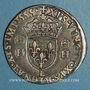 Coins Henri II (1547-1559). Teston 2e type 1555 L. Bayonne