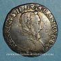 Coins Henri II (1547-1559). Teston 2e type 1556 I. Limoges