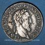 Coins Henri II (1547-1559). Teston frappé au moulin de Paris, 3e type, 1554 A