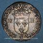 Coins Henri III (1574-1589). 1/4 d'écu 1587 C. Saint-Lô