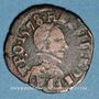 Coins Henri III (1574-1589). Double tournois du Dauphiné, 1578 Z. Grenoble
