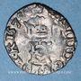 Coins Henri III (1574-1589). Liard à l'H 1579 &. Aix