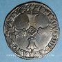 Coins Henri IV (1589-1610). 1/4 d'écu, 2e type, 1601 L et ancre. Bayonne