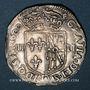 Coins Henri IV (1589-1610). 1/4 d'écu de Navarre 1591. Saint-Palais