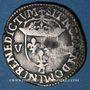 Coins Henri IV (1589-1610). 1/8 d'écu, 5e type, 1607 C. Saint Lô