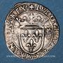 Coins Louis XII. Monnayage pour Milan (1499-1512). Gros royal de trois sous dit bissone