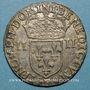 Coins Louis XIII (1610-1643). 1/4 d'écu 1er type 1643 F. Angers