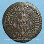 Coins Louis XIII (1610-1643). Comté de Barcelone. Sizain 1642. Gérone
