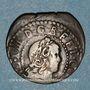 Coins Louis XIII (1610-1643). Comté de Barcelone. Sizain, 1er type, 1642. Barcelone