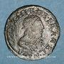 Coins Louis XIII (1610-1643). Double lorrain, 4e type, 1637. Stenay