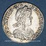 Coins Louis XIV (1643-1715). 1/12 d'écu à la mèche longue 1658 D. Lyon