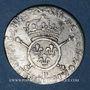Coins Louis XIV (1643-1715). 1/12 écu aux insignes (17)02 P. Dijon. Réformation !