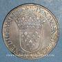 Coins Louis XIV (1643-1715). 1/2 écu à la mèche courte 1644 A. Point