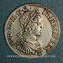Coins Louis XIV (1643-1715). 1/4 écu à la mèche courte 1643 A point