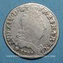 Coins Louis XIV (1643-1715). 10 sols aux 4 couronnes 1703 BB. Strasbourg