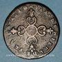Coins Louis XIV (1643-1715). 6 deniers dits dardenne 1710 &. Aix