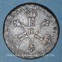 Coins Louis XIV (1643-1715). 6 deniers dits dardenne 1710 H. La Rochelle. R !